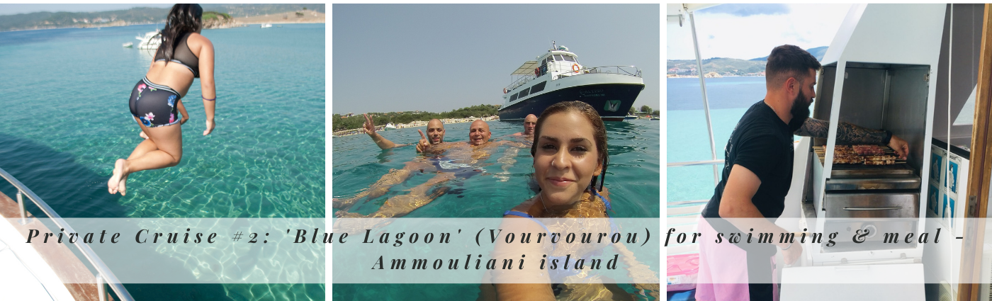 Private Cruise #2: 'Blue Lagoon'  for swimming & meal - Ammouliani island